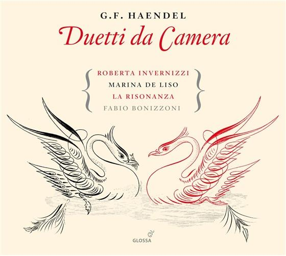 Invernizzi Roberta / Bonizzoni Fabio & Georg Friedrich Händel (1685-1759) - Le Cantate Per Il Cardinal Pamphili