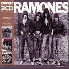 Ramones - ---/Rocket To Russia/Road To Ruin (Remastered, 3 CDs)