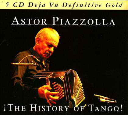 Astor Piazzolla (1921-1992) - History Of Tango (5 CDs)