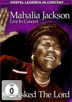 Mahalia Jackson - I asked the lord (Inofficial, DVD + CD)