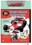 Real Wheels: - High speed adventures (with toy)