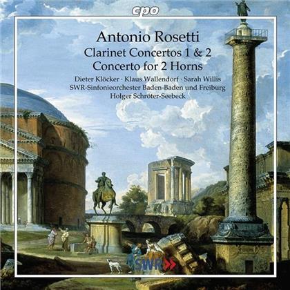 Dieter Klöcker & Francesco Antonio Rosetti (1750-1792) - Konzert Fuer Klarinette Nr1 C6