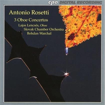 Lajos Lencses & Francesco Antonio Rosetti (1750-1792) - Konzert Fuer Oboe In C-Dur, D-