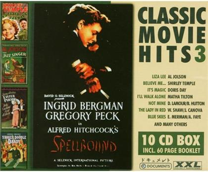Classic Movie Hits - Various 3 s (10 CDs)