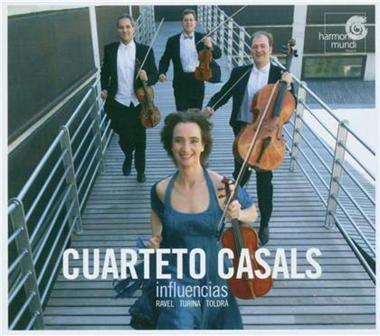Casals Quartett & Ravel/Turina/Toldra - Streichquartette (Influencias)