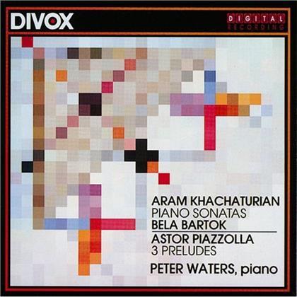 Khatcha/Piazzo/Barto & Peter Waters - Klav Sonaten/Preludes