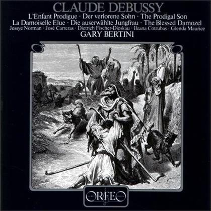 Glenda Maurice, Gary Bertini, Claude Debussy (1862-1918), Jessye Norman, Ileana Cotrubas, … - Lieder