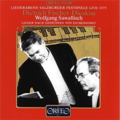 Dietrich Fischer-Dieskau & Wolfgang Sawallisch - Eichendorff Lieder
