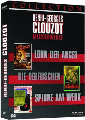 Henri-Georges Clouzot Collection (Box, 3 DVDs)