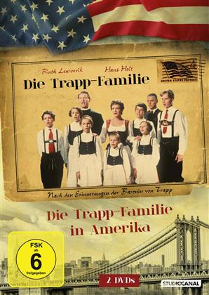 Die Trapp-Familie / Die Trapp-Familie in Amerika (Double Feature, 2 DVDs)