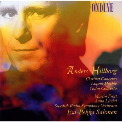 Fröst Martin / Lindal & Hillborg - Klar/Viol.Konzerte