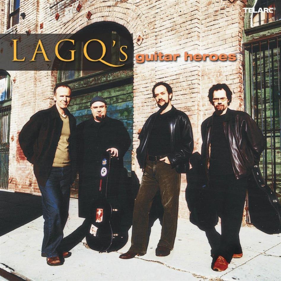 Los Angeles Guitar Quartet & Diverse/Gitarre - Guitar Heroes (SACD)