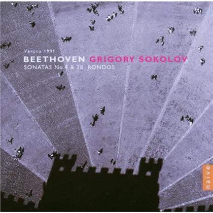 Sokolov & Ludwig van Beethoven (1770-1827) - Klavson Nr 4+7+28/Rondos