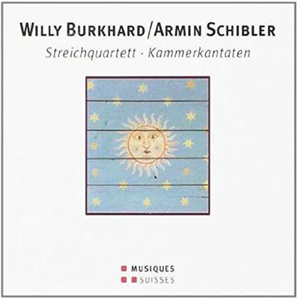 Moser Q/Eggler/Lüpol & Burkhard/Schibler - Streichquart 1/Kantaten