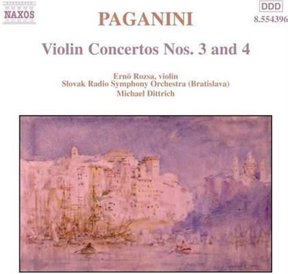 Miklós Rózsa (1907-1995) & Paganini - Violinkonzerte 3&4