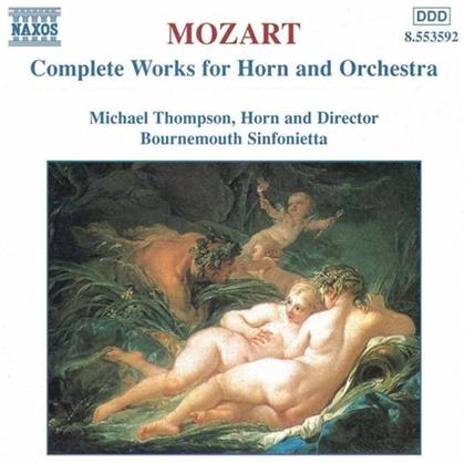 Michael Thompson & Wolfgang Amadeus Mozart (1756-1791) - Sämtl.Werke F.Horn/Orch