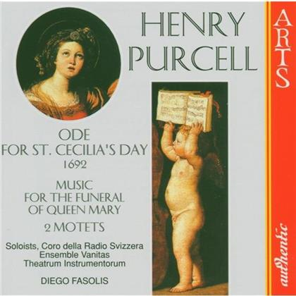 Various & Henry Purcell (1659-1695) - St Cecilia's Day/Funeral Q.Mar