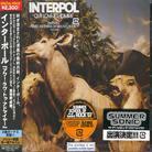 Interpol - Our Love To Admire - Bonus (Japan Edition)