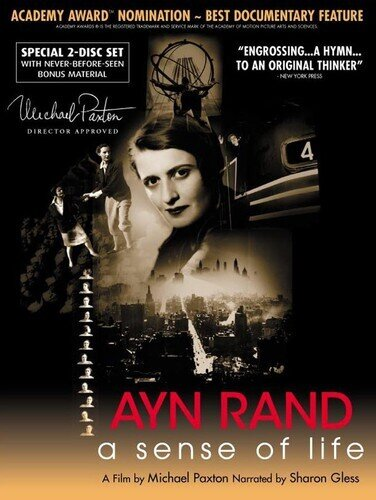 Ayn Rand: A sense of life (1997) (Collector's Edition, 2 DVDs)