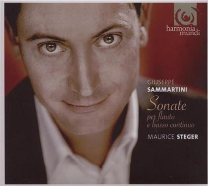 Maurice Steger & Giuseppe Sammartini (1695-1750) - Sonate Per Flauto & B.C.