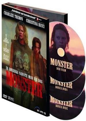 Monster (2003) (Deluxe Edition, 3 DVDs)
