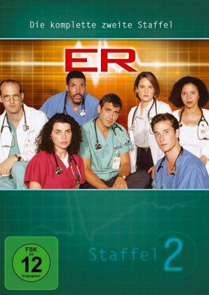 ER - Emergency Room - Staffel 2 (4 DVDs)