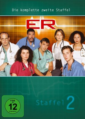 ER - Emergency Room - Staffel 2 (4 DVDs)