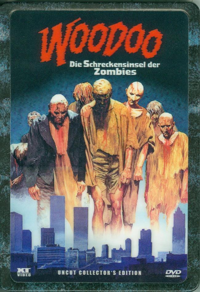Woodoo - Die Schreckensinsel der Zombies (1979) (Metal-Pack, Lenticular, Collector's Edition, Uncut)