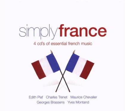 Simply France - Various (4 CDs)