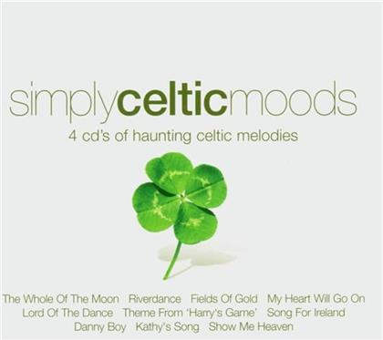 Simply Celtic Moods - Various (4 CDs)