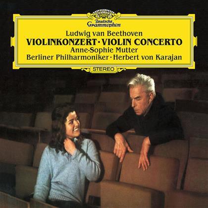 Ludwig van Beethoven (1770-1827), Herbert von Karajan, Anne-Sophie Mutter & Berliner Philharmoniker - Violin Concerto Op.61