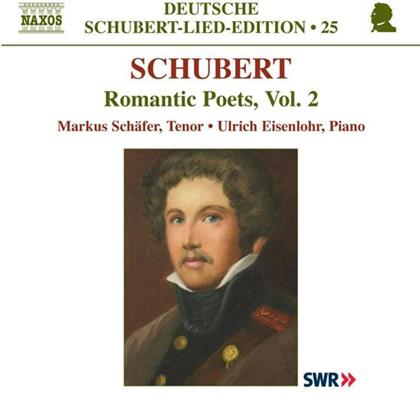 Markus Schäfer & Franz Schubert (1797-1828) - Lied Edition 25