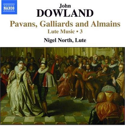 Nigel North & John Dowland (?1563-1626) - Lute Music 3