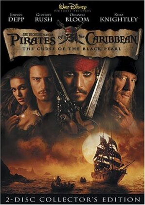 Pirates of the Caribbean - The Curse of the Black Pearl (2003) (Collector's Edition, 2 DVDs)