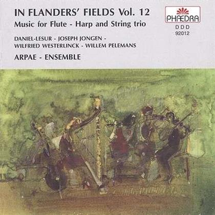 Aldo Baerten (Floete) & Various - In Flanders' Fields Vol 12 Flöte, Harfe