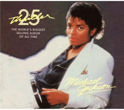 Michael Jackson - Thriller (25th Anniversary Edition, CD + DVD)