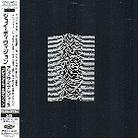 Joy Division - Unknown Pleasures (Japan Edition, 2 CDs)