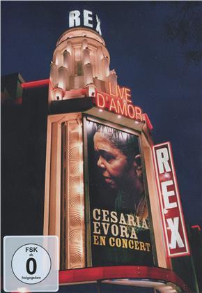 Cesaria Evora - Live d'amor - En concert