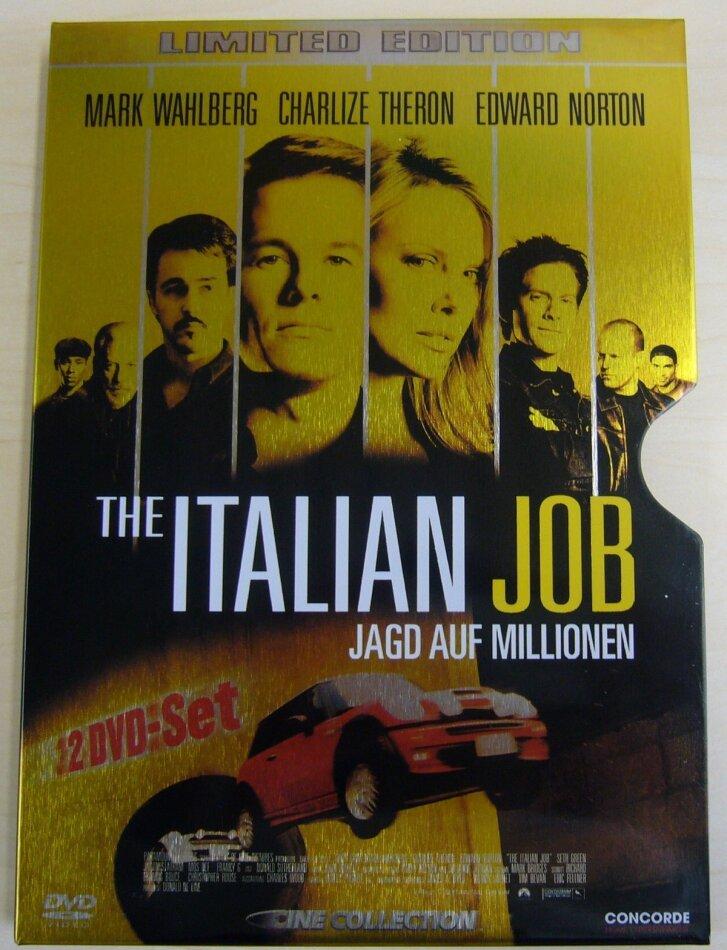 The Italian Job - Jagd auf Millionen - (Limited Steelcase 2 DVDs) (2003)