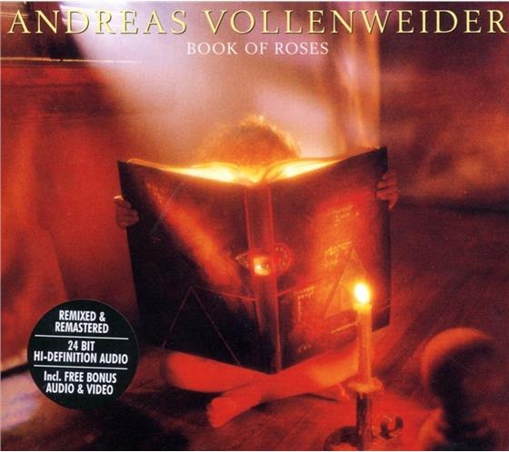 Andreas Vollenweider - Book Of Roses - Re-Release - Digipack (Remastered)