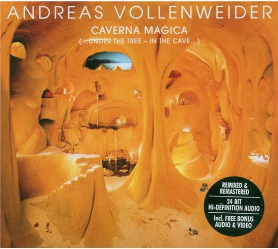 Andreas Vollenweider - Caverna Magica (Digipack)