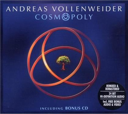 Andreas Vollenweider - Cosmopoly (Digipack, 2 CDs)