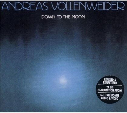 Andreas Vollenweider - Down To The Moon - Digi Re-Release (Remastered)