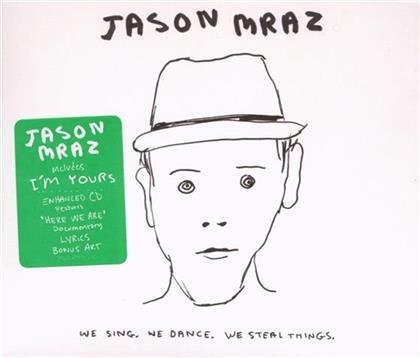 Jason Mraz - We Sing, We Dance - Digipack/Enhanced
