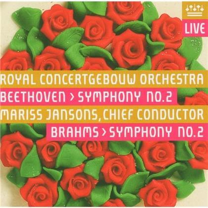 Royal Concertgebouw Orchestra Amsterdam & Ludwig van Beethoven (1770-1827) - Sinfonie Nr2 (Hybrid SACD)