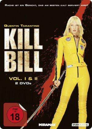 Kill Bill - Vol. 1 & 2 (Limited Edition, Steelbook, 2 DVDs)