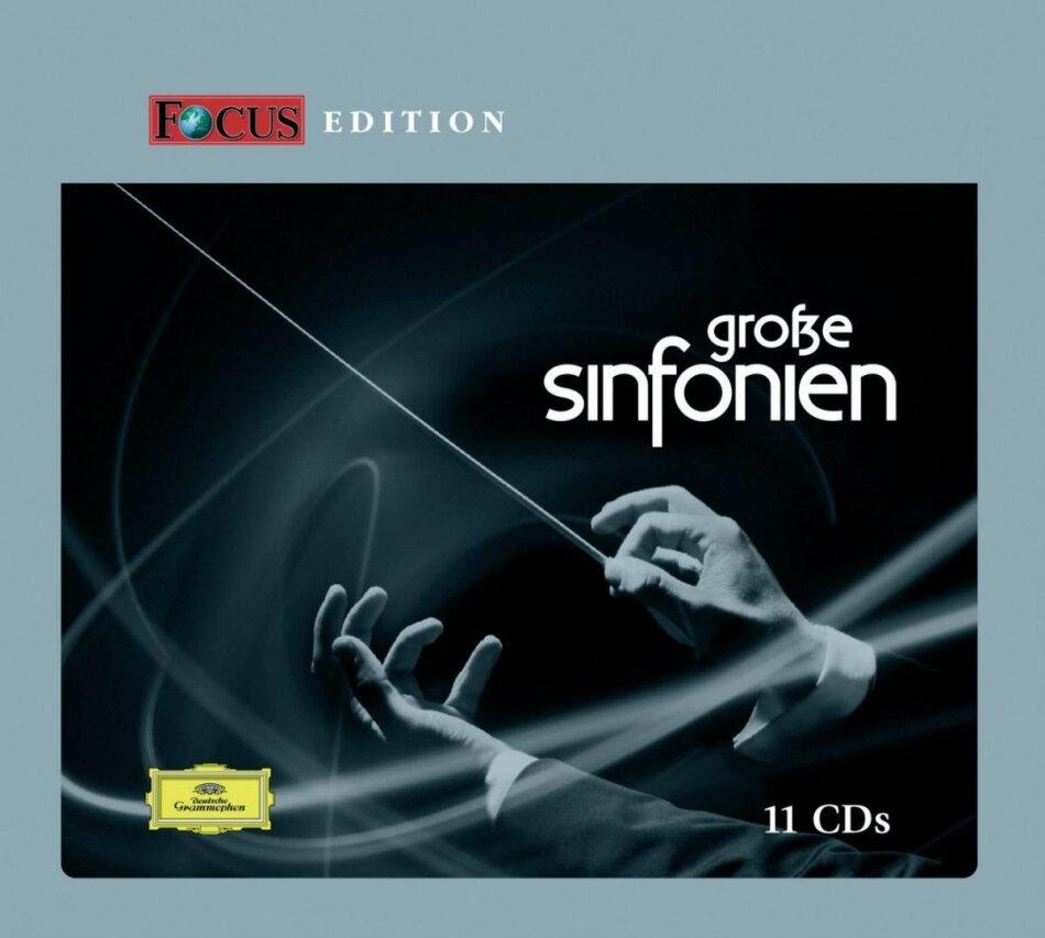--- & Various - Focus Edition Grosse Sinfonien (11 CDs)