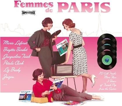 Femme De Paris & Gentlemen De Paris - L'intégrale (4 CDs)