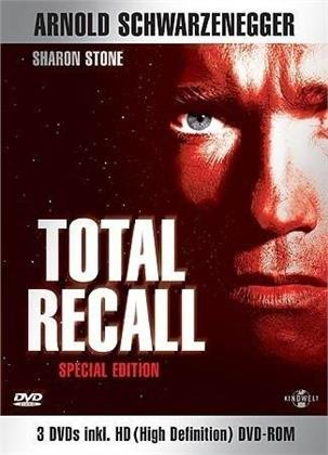 Total Recall (inkl. HD-DVD Room) (1990) (Box, Special Edition, 3 DVDs)