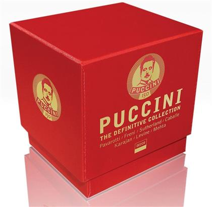 Pavarotti/Freni/Caballe/Sutherland & Giacomo Puccini (1858-1924) - Puccini The Definitive Collection (Remastered, 11 CDs)